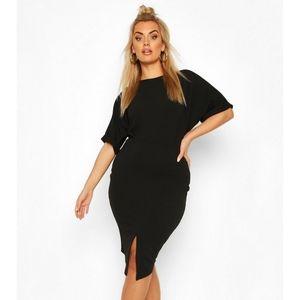Boohoo Wiggle Midi Dress